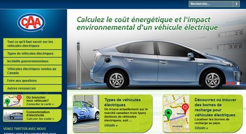 CAA Vehicules électriques